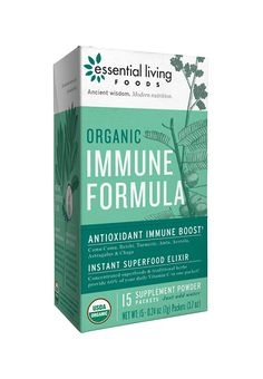 All organic plant-based instant superfood elixir. This concentrated blend of superfoods and traditional herbs is designed to boost your immunity.  This whole-food supplement is made with ZERO chemical binders or fillers, and sweetened only with organic stevia. Designed to please the palette while sparking your system, this precisely-calibrated blend came from our belief that the best supplements are pure foods... and the best foods are superfoods.