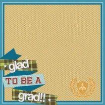Graduate Scrapbook Paper