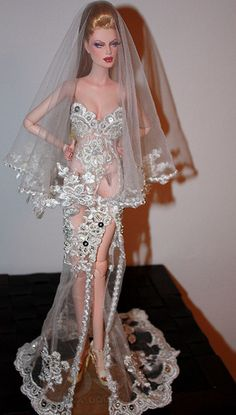 OOAK Angie bride doll