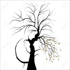 Young couple shaped by tree. Man and. Young Couple Shaped By Tree. Man And . Silhouette Couple, Tree Silhouette, Illusion Kunst, Illusion Art, Optical Illusion Paintings, Optical Illusions, Art Sketches, Art Drawings, Valentines Day Background