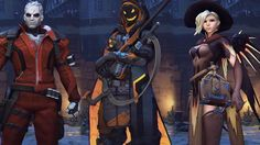 Overwatch: Every Halloween Costume Intro and R.I.P. Victory Pose The Halloween Terror update has released and with it comes all sorts of amazing new skins and animations. October 11 2016 at 09:54PM  https://www.youtube.com/user/ScottDogGaming