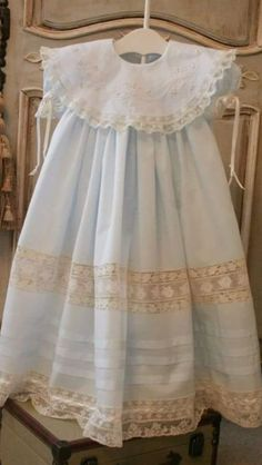 Different colours Naming day.Baptism. Imperial /& bobbin lace.Custom your OWN outfit Easter Girl Dress Mod- DOLORS Heirloom Christening