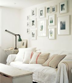 Throw pillows, old french linen.