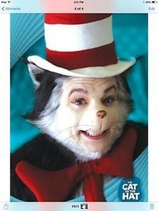 178c6b9a Details about The Cat in the Hat movie poster - Mike Myers, Dr Seuss ...