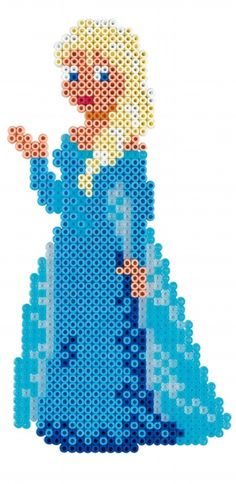 Queen Elsa - Disney Frozen Large Gift Set Hama Beads 7946