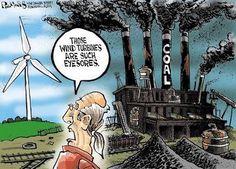 Clean energy is gross?