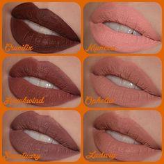Kat von D Crucifix / Hawkwind / Sanctuary / Muneca / Ophelia / Ludwig everlasting liquid lipsticks