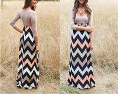 2015 de la alta calidad a estrenar vestidos verano rayas de impresión vestido largo del o-cuello Beach Boho del vestido Maxi femenina tallas venta al por mayor