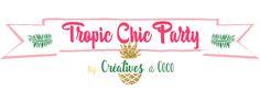 #OuiAreCreativesacoco #ChallengeOuiAreMakers  Thème Tropic Chic Party pour le Challenge des Makers sur Oui are Makers !!
