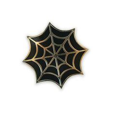 Spider Web Lapel Pin
