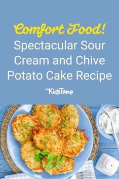 Save This Spectacular Sour Cream and Chive Potato Cake Recipe Potato Cakes, Nutritious Meals, Sour Cream, Family Meals, Cake Recipes, Dinners, Potatoes, Favorite Recipes, Lunch