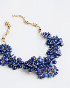 J.Crew women's gardenia statement necklace.