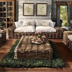 I would love this on an outdoor covered patio