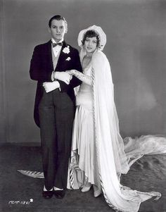 1929 wedding of Douglas Fairbanks, Jr. and Joan Crawford