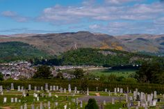 The Wallace Monument viewed from the battlements.