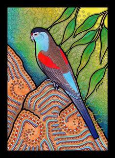 Paradise Parrot as Totem by *Ravenari on deviantART