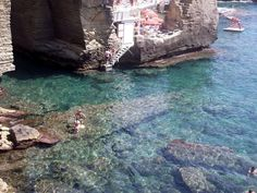 """santa cesarea terme - stabilimento convenzionato /beach rental """"gli archi"""" - - only 5 km from B&B Tana del Riccio"""