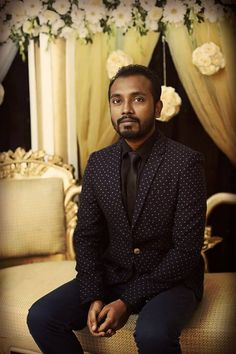 Dressed for a wedding function #Bearded #SuitedBooted  Captured by: Sadaaf Islam — at Sky View Lounge.