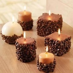 chocolate candles. |Pinned from PinTo for iPad|