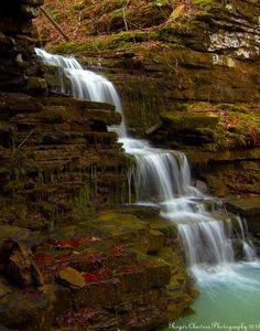 Sally's Throne Falls near Lamar, Arkansas, USA Beautiful Waterfalls, Beautiful Landscapes, Arkansas Waterfalls, Arkansas Usa, Natural Wonders, Nature Photos, Vacation Spots, Places To See, Beautiful Places