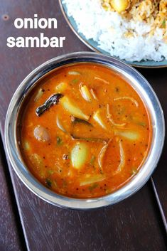 vengaya sambar, ulli sambar, small onion sambar with step by step photo/video. simple & easy sambar recipe with toor dal & small onions or shallots. Sambhar Recipe, Idli Recipe, Pappu Recipe, Rasam Recipe, Indian Veg Recipes, Ethnic Recipes, South Indian Chutney Recipes, Curry Recipes, Soups