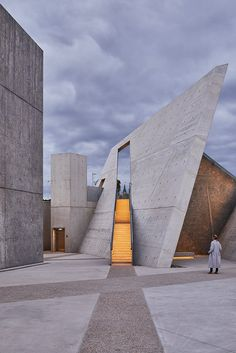 First photos of Daniel Libeskind's newly opened National Holocaust Monument | Archinect