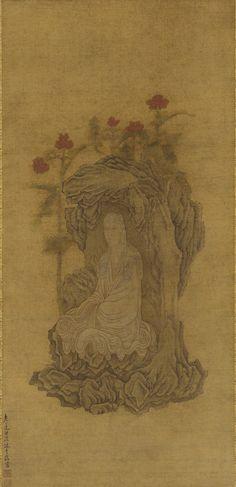 White-robed Guanyin  17th century - Wu Bin , (Chinese, ca. 1591-1626) - Ming dynasty