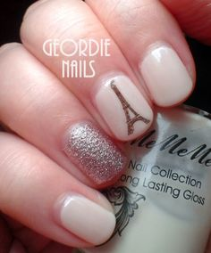 Geordie Nails: The Frenchest of Manicures