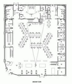 Here's a neat floorplan of the Buzzfeed LA Office / JIDK