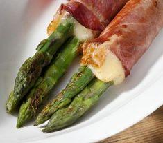 grillowane szparagi z szynką i serem - Przepisy - galley - Smaki Życia
