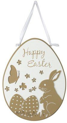 "Blossoms & blooms® ""happy easter"" egg wall decor"