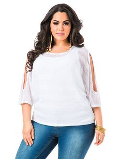 Elbow Sleeve Cold Shoulder Sweater Elbow Sleeve Cold Shoulder Sweater