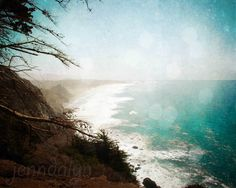 The End is the Beginning  PHOTO pacific coast by Jenndalyn on Etsy, $24.00