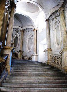 The Staircase, Palazzo Carignano, Torino, Italy,