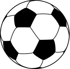 Soccer Ball Pattern Template Soccer Ball Pattern Vector