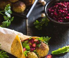 Φαλάφελ από την Αργυρώ Μπαρμπαρίγου! Falafel, Salsa, Vegan Recipes, Food And Drink, Mexican, Gluten Free, Cooking, Ethnic Recipes, Greece