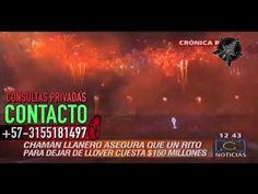 RCN ENTREVISTA A BRUJO REAL COLOMBIANO    +57-3155181497 CHAMAN LLANERO - YouTube