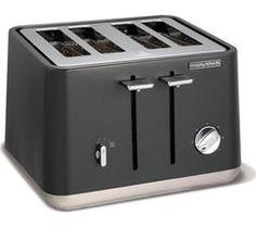 MORPHY RICHARDS Aspect 240004 4-Slice Toaster - Titanium
