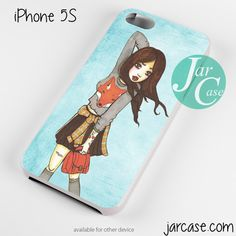 Fun girl Phone case for iPhone 4/4s/5/5c/5s/6/6 plus