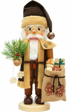 Santa Claus Natural Nutcracker
