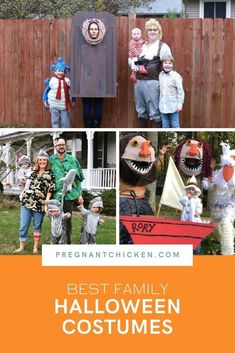 These are the best family Halloween costumes including DIY costumes, family costumes, stroller and wagon ideas for both boys and girls. Some are easy, some are funny, but all of them are scary good!