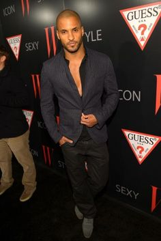 "British Heartthrob Ricky Whittle from ""Single Ladies."""