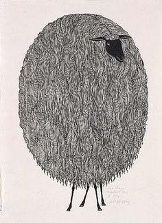 The Sheep by Jacques Hnizdovsky / American Art