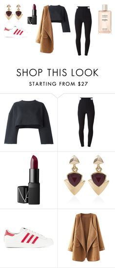 """""""Sans titre #179"""" by leoniemika on Polyvore featuring mode, adidas Originals, Givenchy, NARS Cosmetics et White House Black Market"""