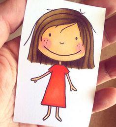 Jane's Doodles - Suzi stamp set