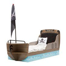 CHILDREN'S PIRATE SHIP BED in Captain Design. Beds for Boys | Ship Bed | Boat Bed | Childrens Beds