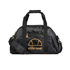 7f655288b9b4 Details about Ellesse Fiatto Weekender Mens Sports Bag Black Size 1  Sportswear Gym School