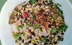 Prepariamo il riso con fagioli neri #riso #fagiolineri #mais #ricetta