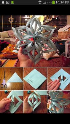 Snow flake make with katy