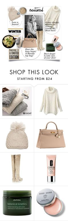 """""""I'm not wierd...My winter essentials"""" by theworldisatourfeet ❤ liked on Polyvore featuring Post-It, Inverni, Hermès, Gianvito Rossi, Clinique, Aveda, Bobbi Brown Cosmetics, Primitives By Kathy, winterstyle and winteressentials"""